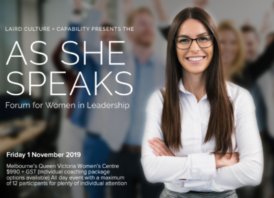 As She Speaks Executive Coaching
